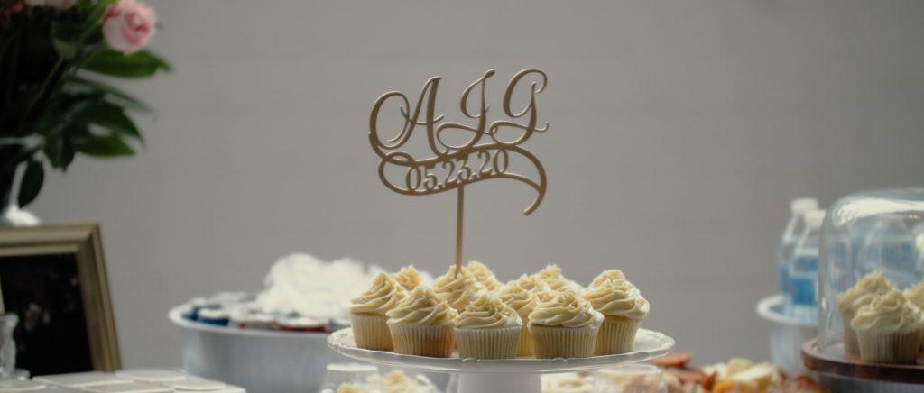Alex and Andrew Wedding Cake