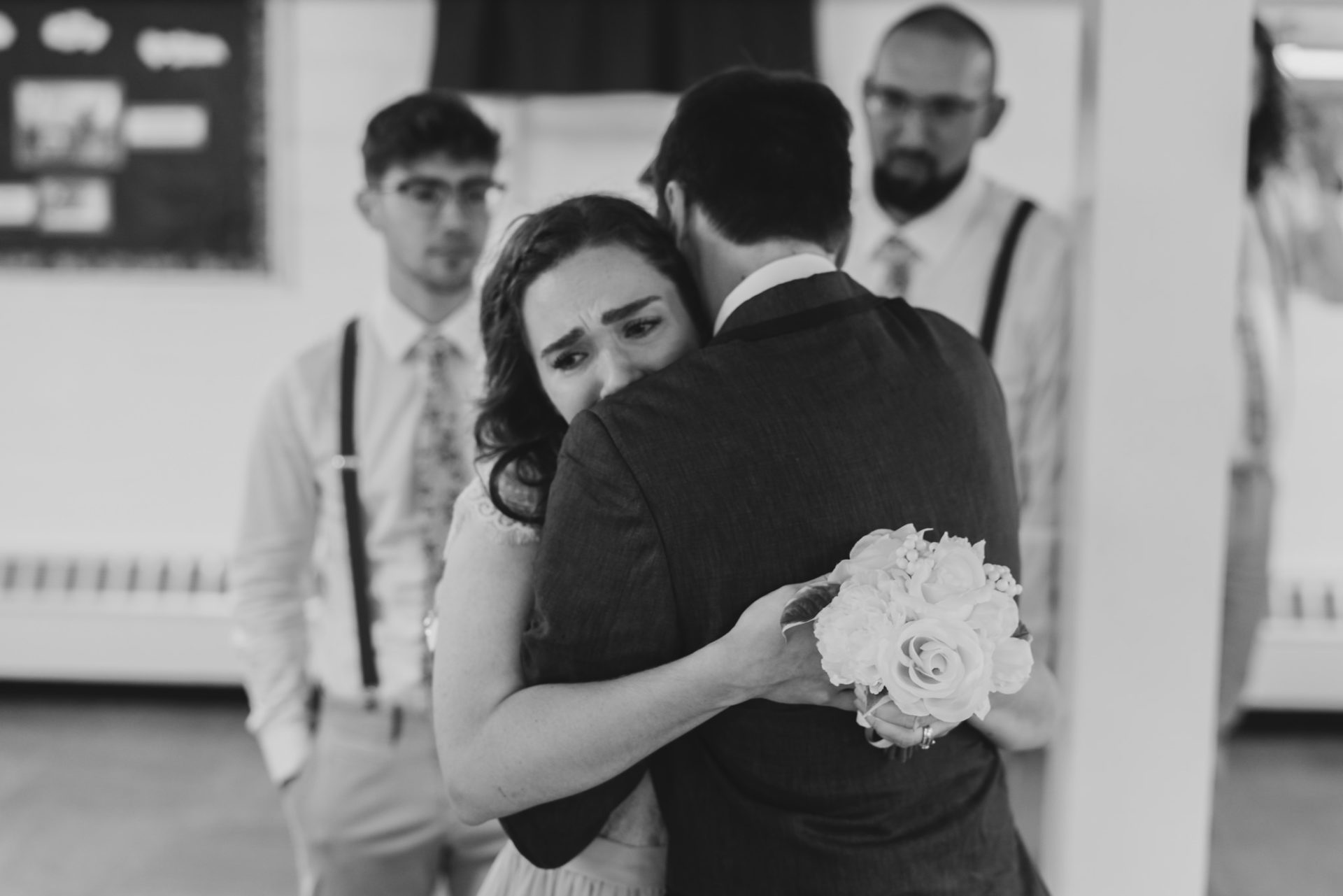 Sandusky Ohio Hugging & Crying